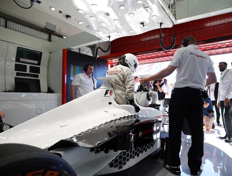Become an F1 star for a day in F1 Experiences custom-built two-seater Formula 1 car.
