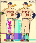 California Angels Record: 81-81 7th Place American