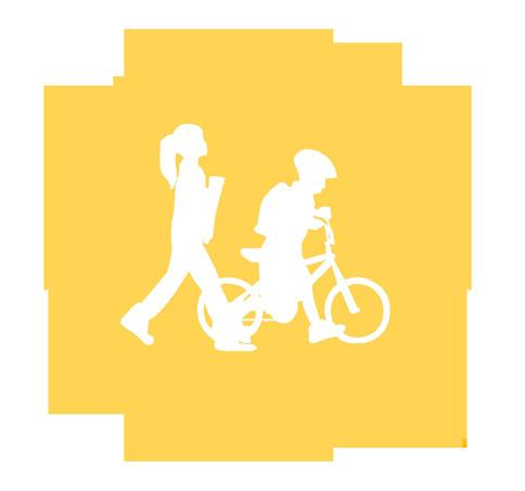 Chapter 5: Crossing the Street Whether walking or bicycling, a student s journey to school will more than likely require crossing one or more streets.