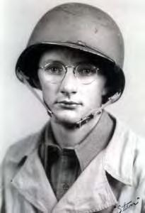 PVT. Stan Fagerstrom after basic training at Camp Roberts, California. Date 1943. Photo courtesy of Stan A War and The Daily News Fagerstrom s love of fishing began at an early age in North Dakota.