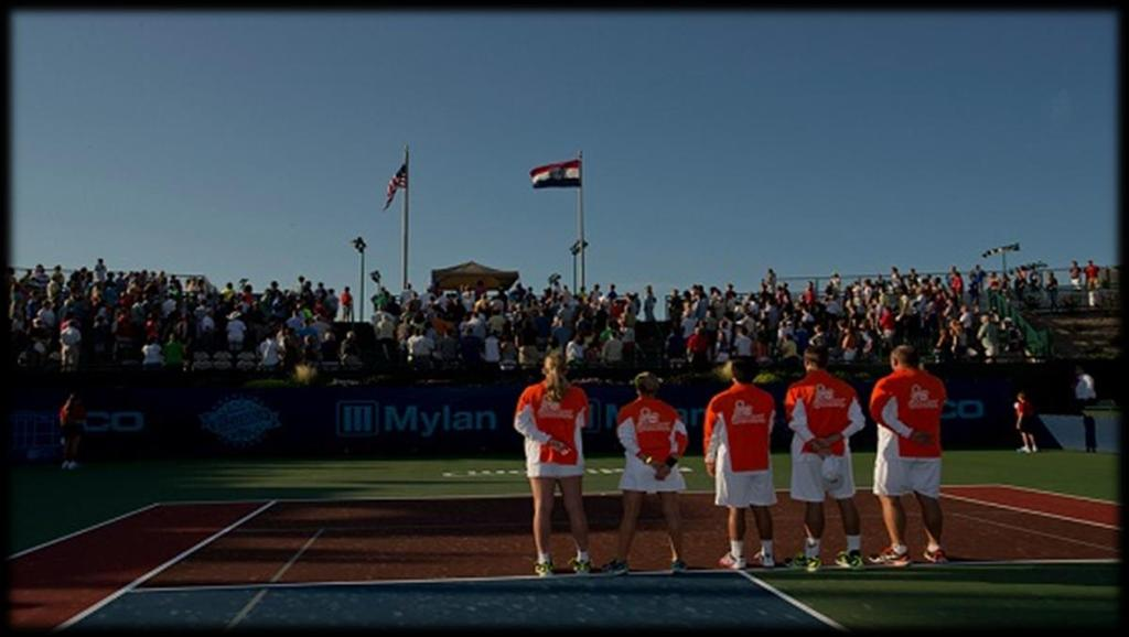 PROFESSIONAL TENNIS IN ORANGE COUNTY A professional tennis team that competes in Mylan World TeamTennis.