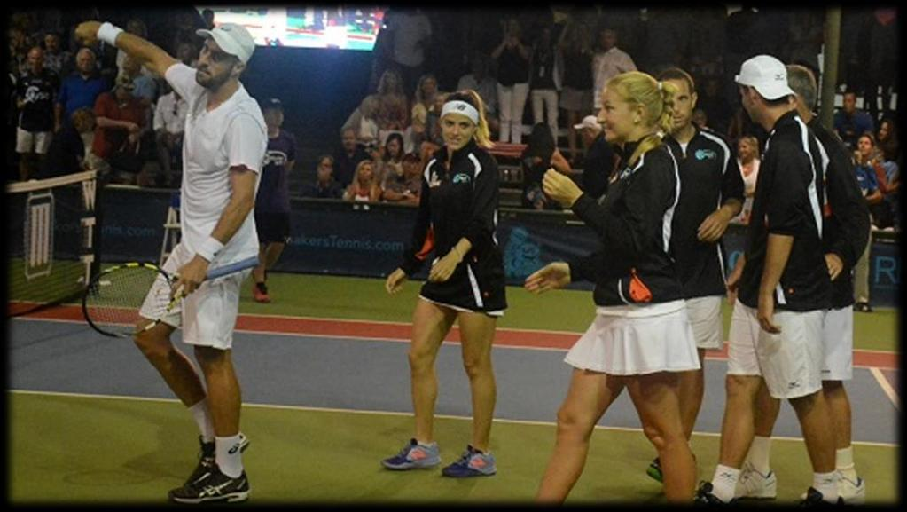 PROFESSIONAL TENNIS IN ORANGE COUNTY The Breakers receive extensive media and marketing exposure in the lead up to and during the season.