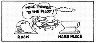 short final, be prepared to add power and go-around if necessary. The sooner you add power, the less likely you are to wind up between a rock and a hard place.