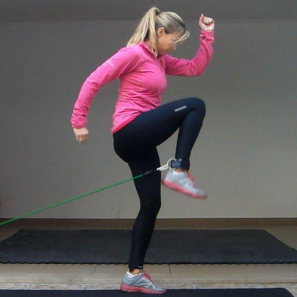 Knee Drive (hip flexors)