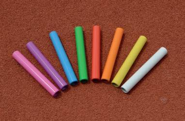 Relay Rods Order No. 10780 The relay batons are available in different materials and price categories.