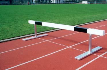 Steeplechase Hurdle Hurdle Bar for Steeplechase Hurdle Order No. 10390 Steeplechase hurdles for the 3000 m distance. Length 3.96 m.