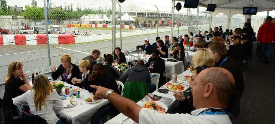 FORMULA 1 GRAND PRIX DU CANADA 2018 Canada CHAMPION With excellent views of the last chicane exit on Circuit Gilles-Villeneuve, Champions Club guests will enjoy an urban oasis in the midst of the