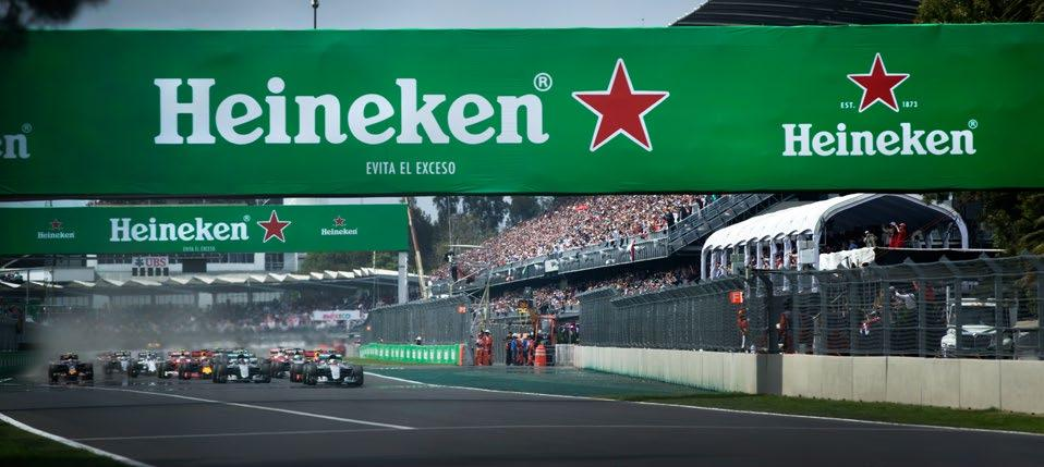 FORMULA 1 GRAN PREMIO DE MÉXICO 2018 Mexico CHAMPION Situated along the Main Straight, the Champions Club