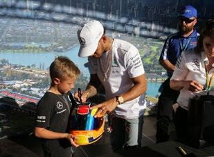 the circuit, the perfect place for fans to get autographs, photos, and
