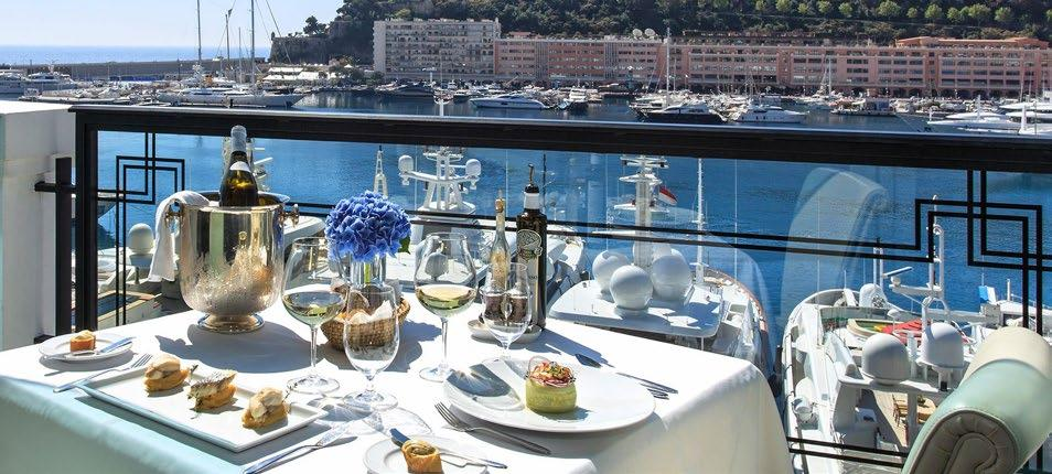 FORMULA 1 GRAND PRIX DE MONACO 2018 Monaco CHAMPION PLATINUM A Enjoy hilltop views of the track from the Champions Club at La Marée Restaurant, complete with air-conditioned open bars, gourmet food