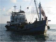 Number of Fishing Vessel Engaged in Off-shore Fishery No Type