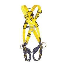 Full Body Harness Buckle tongues should be free of distortion and move freely back and forth in their socket. Inspect for loose, distorted or broken grommets.