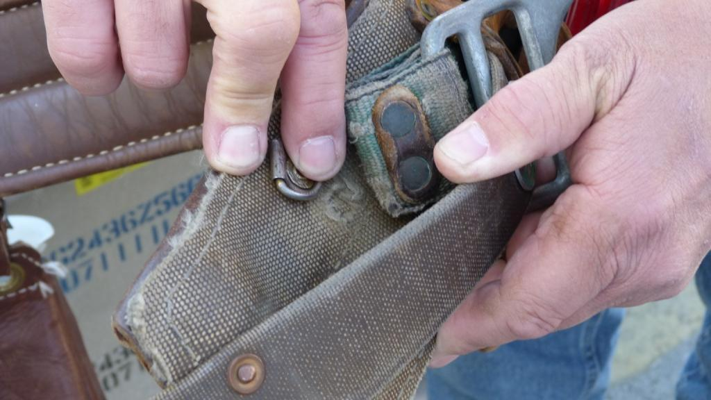 Inspecting and Maintaining Body Belts Precautions Never punch holes in belt Attach only snap