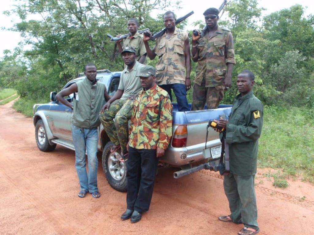 where they can be downloaded at the end of each patrol and recharged.