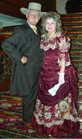 Kincaid and Lady Stetson in 2002. and standards, ensuring uniform costume contests at all SASS costume contests.