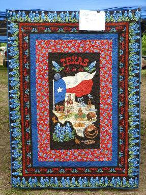 Page 22 Cowboy Chronicle September 2015 On The Range at LAST STAND Thunder River 2015 By Cheyenne Ranger SASS Life #48747 Hand made Texas Quilt by Trixie LeDeauxxx, held by Rawhide (SASS # 39957) and