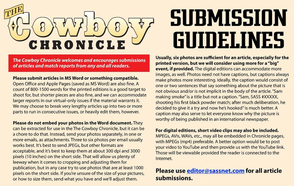 Page 72 Cowboy Chronicle September 2015 The Straight Shot Tombstone and a Royal Pain.