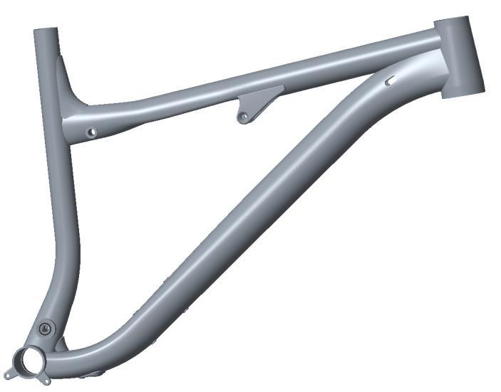 Frame Assembly Chain Stay to Front Triangle