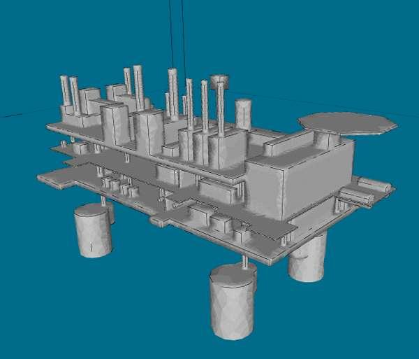 Ventilation and Safety Study Brown & Root Energy Services commissioned BMT Fluid Mechanics to assess the ventilation rates within the production and cellar decks for the Malampaya offshore platform