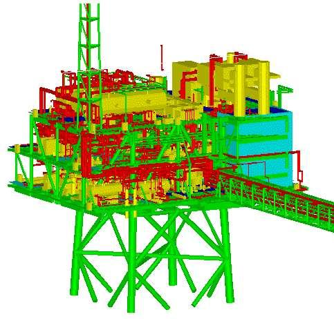 Explosion Modeling on oil platforms Detailed Geometry Modeling Approach More accurate as involves less approximations