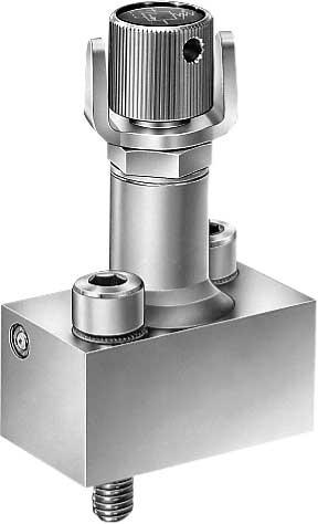 Sequence valves generate a constant pressure difference between the inlet and outlet ow. Type MV is a directly controlled valve that is damped as standard.