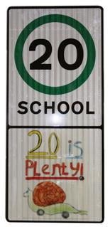 6 Local Highway Panels (LHP) Members Guide 2016/17 4. Typical measures continued 20s Plenty This is a new advisory scheme for 20mph limits on local 30mph roads outside educational establishments.