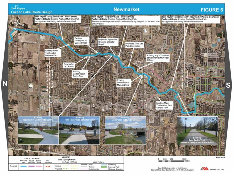Lake to Lake Cycling Route Design