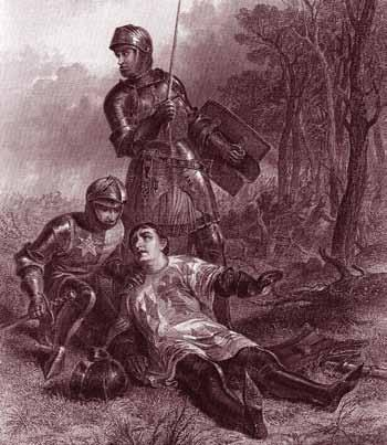 Blood & Roses BATTLE BOOK 19 and fired upon by their own side. Suspecting treason Oxford s troops quit the field.