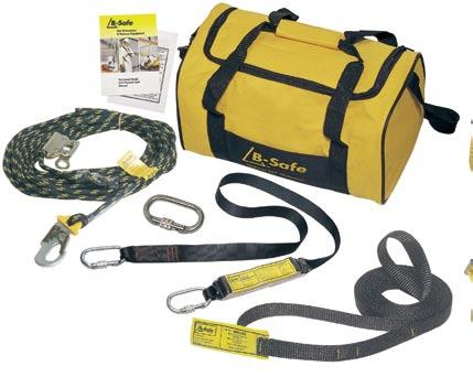 Roofers Kits (For use in all domestic and commercial roof working applications) BK061015 Roofers Kit 15m rope, manual rope grab, 2m