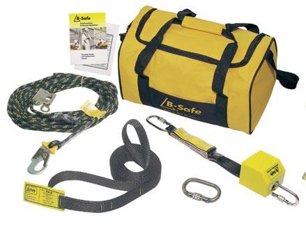 Kit Components BH01120 Harness BL01112 2m S/A Lanyard BS010115A Rope and Grab BP03101.