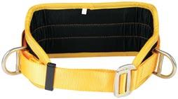 BB02000 BB03000 BB04000 Restraint Belt with large back support pad, padded