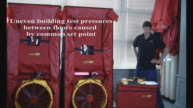 Exercise 3 Uneven building test pressures between floors caused