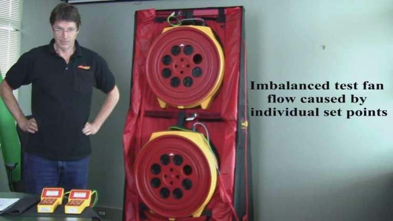 Exercise 1 Imbalanced test fan flow caused by individual
