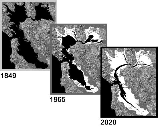 San Francisco Bay Conservation and Development Commission (BCDC). By 1965, the filling of the SF Bay-Delta system was well advanced.