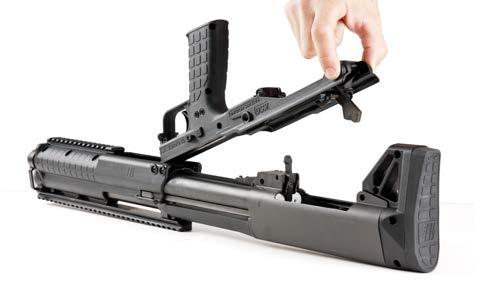 Figure D-3: Lift Grip Assembly Directly Upwards Removal of the Stock 1.