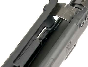 E. ASSEMBLY Joining of the Barrel and Receiver Assemblies 1. Ensure the bolt carrier is properly placed into the forend as shown in Figure E-1.