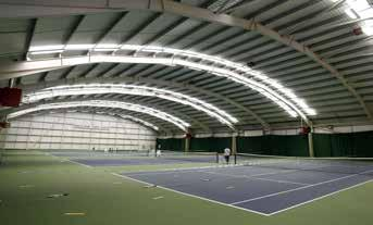 Benham Sports Centre is a large multi-sports facility complete with indoor climbing wall, two full size 5-a-side football pitches and ten badminton courts with the centre able to provide more than 15