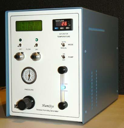 The HumiSys RH Generator Designed, built, and supported by InstruQuest Inc.