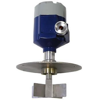 J. Level detections 35 J.2 Level paddle switch Level is detected by the change in inertia of a rotating paddle depending on whether the paddle is in the air or in contact with the product.