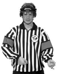 Referee s Signals 23 HOOKING A tugging motion with both arms as if pulling something from in front toward the stomach.