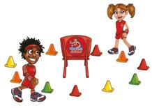 GAME 3 THE FIND IT FAST GAME Game 3, The Find it Fast Game, is all about finding the hidden fruit as quickly as possible and being the fastest to sit on the chair in the middle of the circle to win