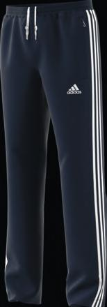 openings for easy step in and out comfort Two mesh pockets on the front Applied three stripes on the legs