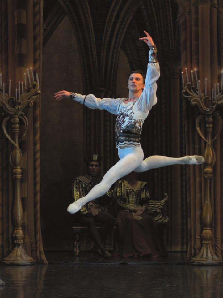 SOLOISTS SOLOISTS Mykhailo Tkachuk Dmitri Akoulinin Mikhail was born in Donetsk (Ukraine) in 1990. In 2008, he graduated from the Kiev State Choreographic School (class Lakhtionov S.V).