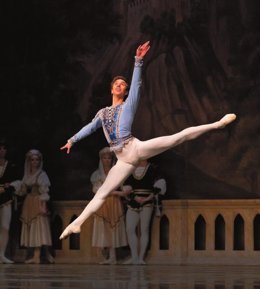 Since 2012 he has been a first soloist with the Saint Petersburg Ballet Theatre.