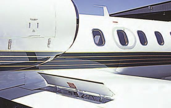 The split flap is deflected from the lower surface of the airfoil and produces a slightly greater increase in lift than does the plain flap.