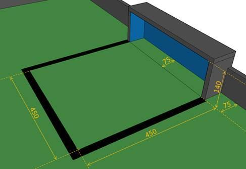 wood(pine) or plywood 5 to 17 mm thick(recommended) The WRO Football rules allow for adjustments