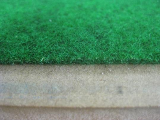 Field Marking Recommended Field Material - Outdoor Carpet Short Fibre, Thickness 3-5 mm, EV3 reflected