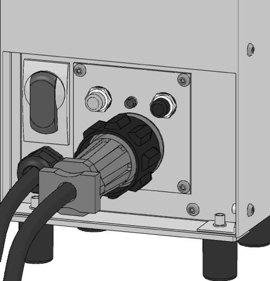 - Connect ballast to appropriate power supply. - Reverse procedure when shutting down your Sirocco unit.