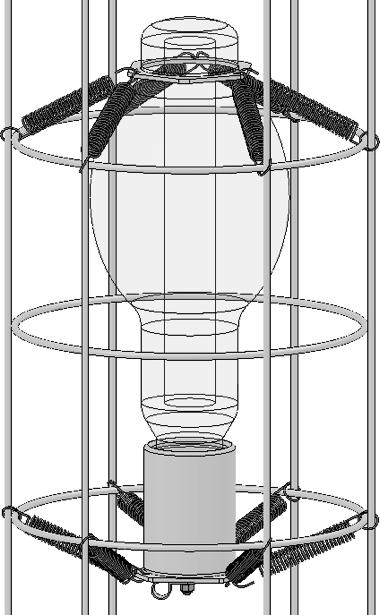 (Fig. 4) Fig. 4 Fig. 5 Reinstall the plate on the top of the cage using the wrench. (Fig.