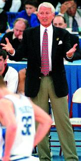 In 1998, Rick Majerus reached the Final Four with Utah in his 14th season of coaching.